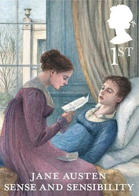 Jane Austen Sense and Sensibility 1st class stamp