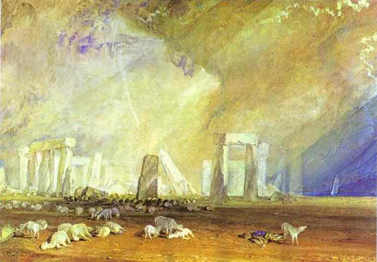William Turner - Stonehenge (1825-28)