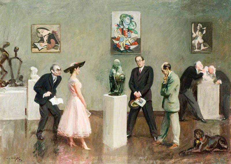 Does the Subject Matter? by Alfred James Munnings