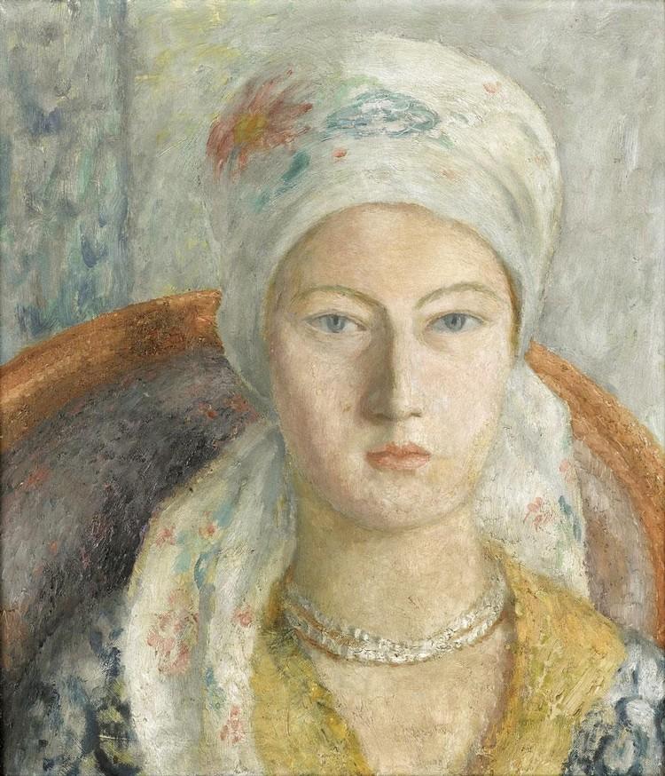 Dora Carrington - Portrait Of Julia Strachey 51925)