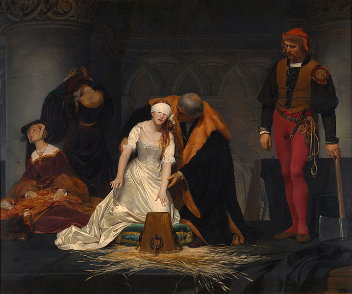 Paul Delaroche - The Execution of Lady Jane Grey (1833)