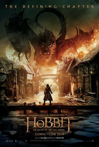 The Hobbit - The Battle Of The Five Armies - poster