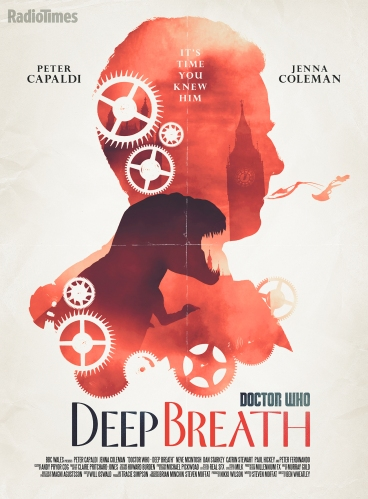 Deep Breath_Doctor Who poster