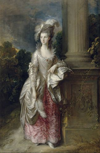 Thomas Gainsborough - The_Honourable_Mrs_Graham
