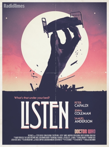 Doctor Who_Listen Poster