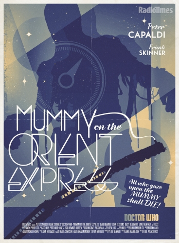 Doctor Who_Mummy On The Orient Express Poster
