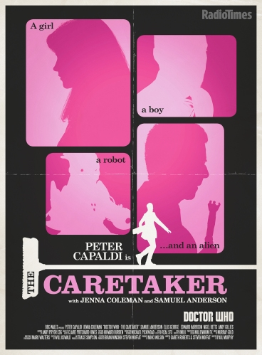 Doctor Who_The Caretaker poster