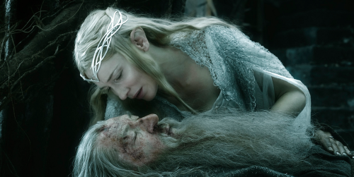 The Hobbit_Galadriel & Gandalf