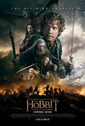 The Hobbit_The Battle Of The Five Armies_Poster