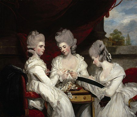 Sir Josshua Reynolds_The Ladies Waldegrave